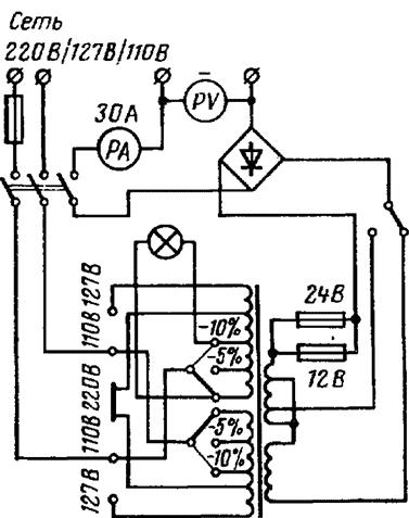 Выпрямитель вса-6 схема